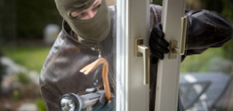 What would you do if your neighbors home was being broken into while they were on vacation?