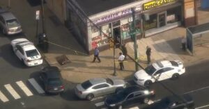 Store owner shoots knife-wielding robber; robber's day turns bad when store owner shoots him, then turns really bad when he is pronounced dead