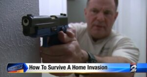 """Finally, A News Station That Recommends Having A Gun On Their """"How To Survive A Home Invasion"""" Segment"""