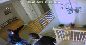 Home Invasion Caught On Security Cameras, People In Area See Spike In Crime And Are Beginning To Arm Themselves