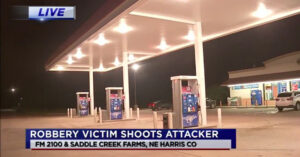 Woman With Concealed Carry Permit Stops Robber At TX Gas Station