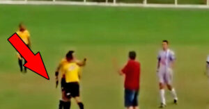 [VIDEO] Remember That One Time A Referee Pulled A Gun During A Soccer Game?