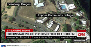 UPDATE: Mass Shooting At Oregon Community College — 10 Dead, 9 Wounded, Gunman Dead In Gun Battle With Police