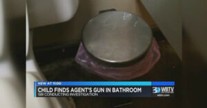 Parenting WIN — Young Girl Discovers SBI Agent's Pistol In The Bathroom, Notifies Parents Immediately