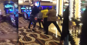 [VIDEO] How Close Is Too Close? Security Guard Knocked Out Because…