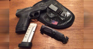 #DIGTHERIG – Andrew and his S&W M&P Shield 40