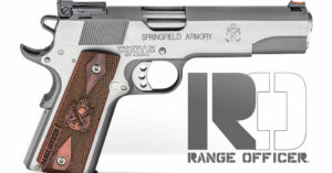 New From Springfield Armory: 1911 Range Officer Now Available In Stainless Steel