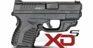 New From Springfield Armory: XD-S Pistol With Crimson Trace Laserguard