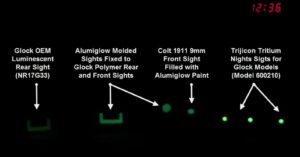 Should Night Sights Be Standard On Concealed Carry Firearms?