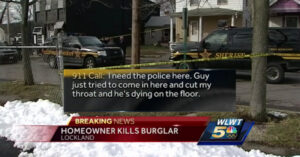 Burglar Shot And Killed After Trying To Enter Armed Citizen's Home