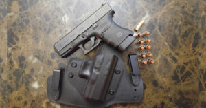 #DIGTHERIG – Logan and his Glock 30 in an Alien Gear Holster