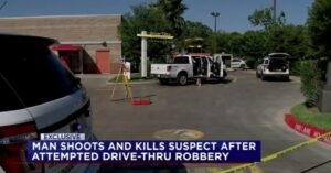 Armed Citizen Shoots And Kills Drive-Thru Robber While Getting Lunch With Son