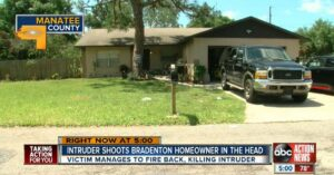 Homeowner Better Shot During Gun Fight With Armed Home Invaders