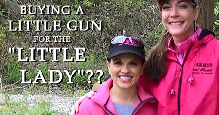 "[VIDEO] Choosing A Gun For The ""Little Lady"""
