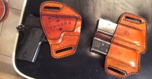 #DIGTHERIG – This Guy and his Kimber Ultra Carry II in a Handmade OWB Holster