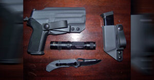 #DIGTHERIG – Andrew and his Sig Sauer P229R in a Squared Away Customs Holster