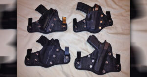 #DIGTHERIG – This Guy, His Wife, And Their Glock 19, S&W M&P Shield 40, Ruger SR9c and Ruger LC9s in StealthGearUSA Holsters