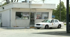 Armed Gas Station Customer Shoots At Robber After Being Hit By Getaway Vehicle
