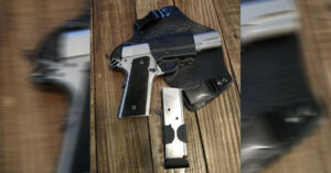 #DIGTHERIG – Matt and his Ruger SR1911 in a Galco Holster