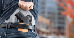 Carrying A Gun Doesn't Make You Paranoid Or Crazy