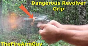 [VIDEO] See What Can Happen If Your Hand Is In The Wrong Spot While Firing A Revolver