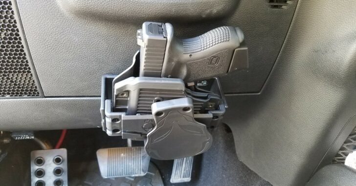 [REVIEW] Alien Gear Cloak Dock Holster Mount For Nearly Any Surface