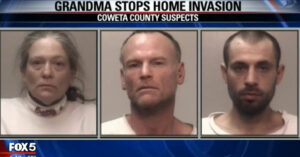 Grandma With Gun Stops Burglary Inside Her Home