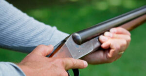 Grandma Blocks In Two Suspected Burglars And Holds Them With Her Double Barrel Until Police Arrive