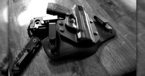 #DIGTHERIG – Andrew and his Smith & Wesson M&P Shield 45 Performance Center in an Alien Gear Holster