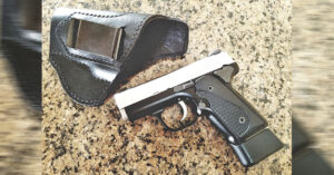 #DIGTHERIG – Dominick and his Kimber Solo Carry in a Winthrop Holster