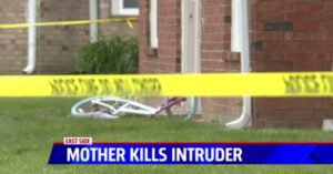 Mother Kills Apartment Intruder To Save Her Family