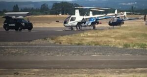 Police Kill Gunman Who Attempted To Hijack Helicopter
