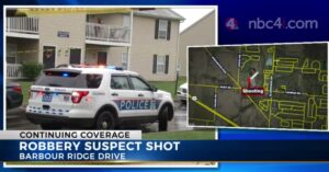 Robber Picks Wrong Target, Gets Free Ride To Hospital With Gunshot Wound