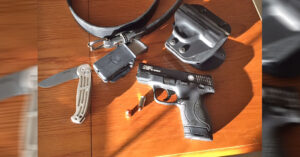 #DIGTHERIG – Steven and his Smith & Wesson M&P Shield in an Alien Gear Holster