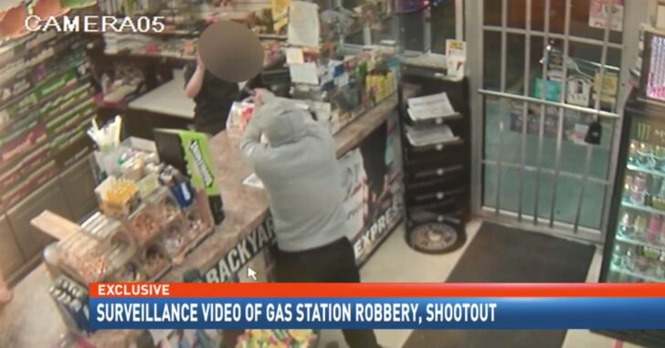 VIDEO 15 Year Old Bystander Shot By Clerk As He