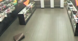 WATCH: Store Owner Shoots At Armed Robbers, Sends One To The Ground