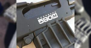 Shooting Mossberg's New Magazine-Fed 590M Pump-Action Shotgun [SHOT Show 2018]