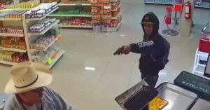 Real Life Cowboy Takes Down Armed Convenience Store Robber. Twice. *WATCH*