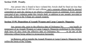Town Passes Law Banning Many Semi-Auto Firearms, $1000 Fine If Not Removed From Home