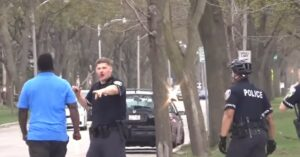 [VIDEO] One Man Takes On Numerous Officers: Their Restraint Is Amazing