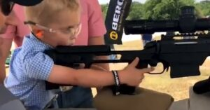 Video Of 4-Year-Old Firing Rifle Sets The Internet On Fire