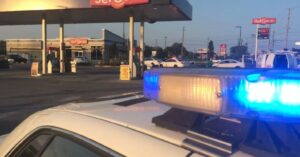 Two Armed Customers Take Down Armed Robbery Suspect At Gas Station