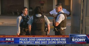 Concealed Carrier Joins Police In Shootout Against Man With Automatic Firearm
