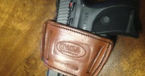 #DIGTHERIG – John and his Ruger LC9 in a Tagua Holster