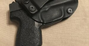 #DIGTHERIG – Matt and his Kahr PM9 in a Badger Concealment Holster