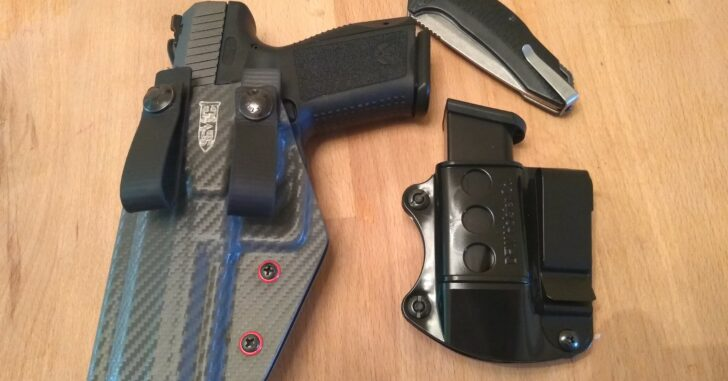 #DIGTHERIG – Michael and his Canik TP9SF Elite in a Smoky Mountain Concealment Holster