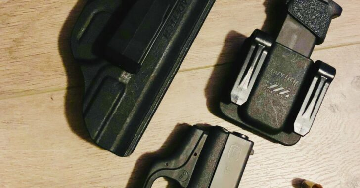 #DIGTHERIG – Abel and his Glock 43 in a BladeTech Holster