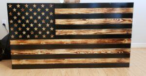 [PRODUCT REVIEW] San Tan Woodworks Burnt X-Large Concealment Flag