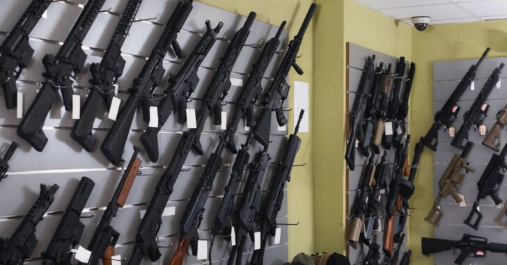 Gun Stores Turning People Away As Rush For Purchases Flood America As Biden Takes Office