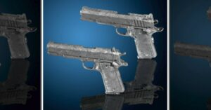 Functioning Pistols, Made From 4.5 Billion-Year-Old Meteorite, Could Be Yours At A Great Price